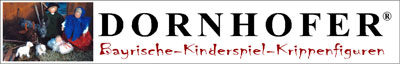 Bayrische Kinderspiel Krippenfiguren für Kinderhände-Logo